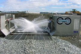 The Soaker: Wheel Wash Used in Commercial Sites